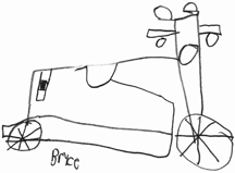 Bryce's drawing, 2010